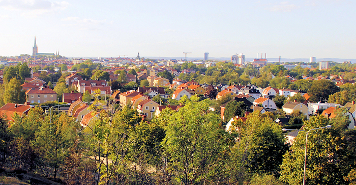 Vy över Linköping