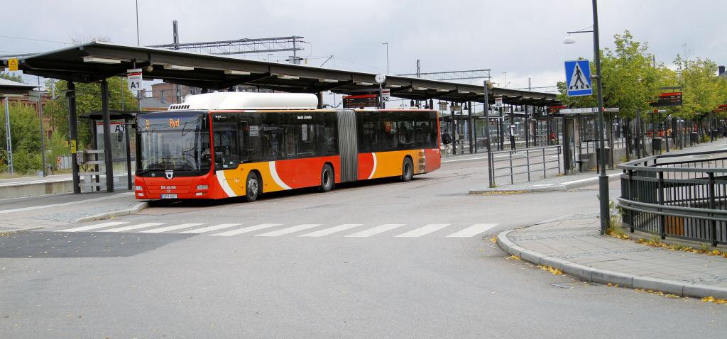 Resecentrmu och buss från Östgötatrafiken