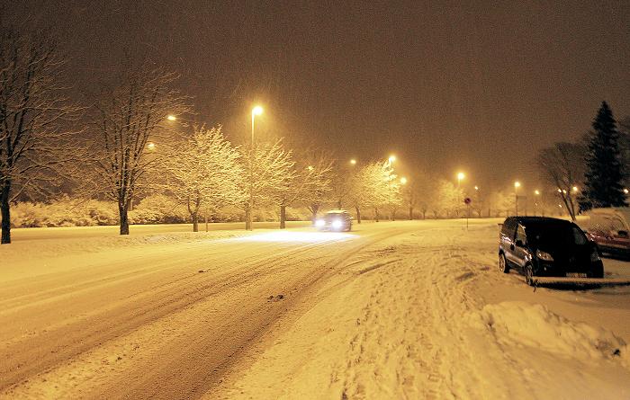Vinter och snöröjning