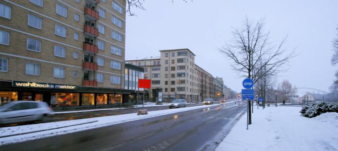 Sänkt hastighet i Linköping